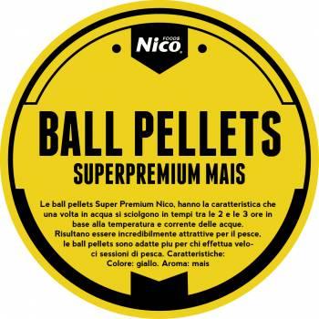BALL PELLETS SUPERPREMIUM MAIS