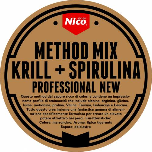 METHOD MIX KRILL + SPIRULINA PROFESSIONAL NEW