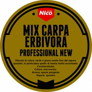 MIX CARPA ERBIVORA PROFESSIONAL NEW