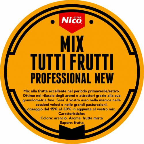 MIX TUTTI FRUTTI PROFESSIONAL NEW