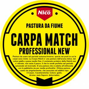 PASTURA CARPA MATCH PROFESSIONAL NEW