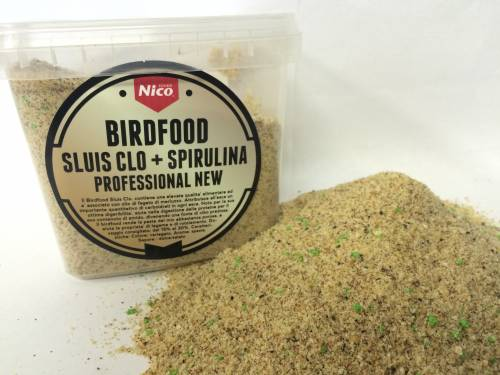 BIRDFOOD SLUIS CLO + SPIRULINA PROFESSIONAL NEW