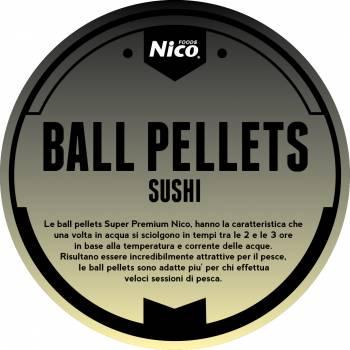 BALL PELLETS SUPERPREMIUMSUSHI