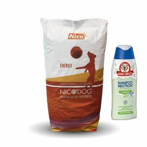 SHAMPOO BAYER 250 ML + NICO ENERGY SACCO 15 KG