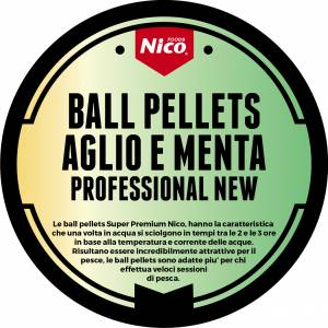 BALL PELLETS SUPERPREMIUM AGLIO E MENTA