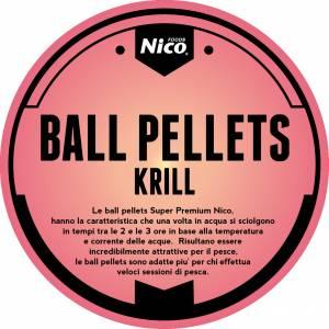 BALL PELLETS SUPERPREMIUM KRILL - GAMBERO ROSSO DELLA LOUISIANA