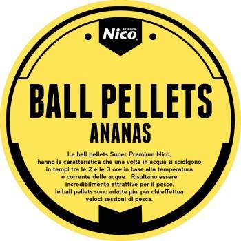 BALL PELLETS SUPERPREMIUM BANANA