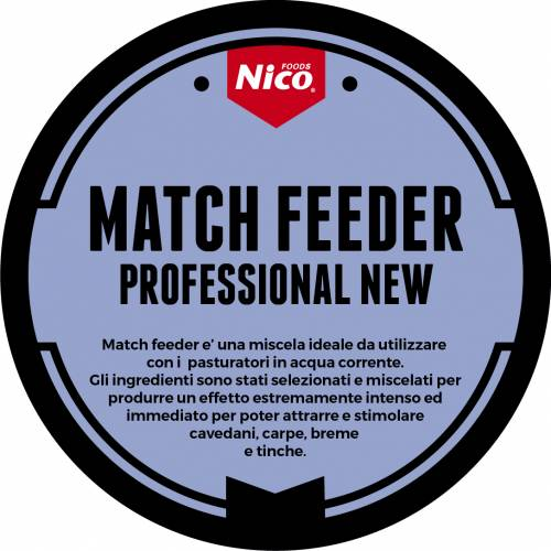 MATCH FEEDER PROFESSIONAL NEW