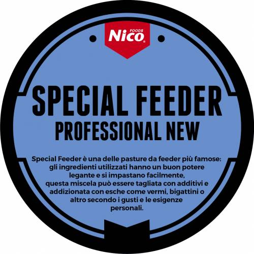 SPECIAL FEEDER PROFESSIONAL NEW