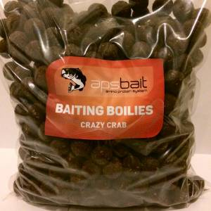 BAITING BOILIES 2KG CRAZY CRAB - LINEA APS BAIT AMINO PROTEIN SYSTEM