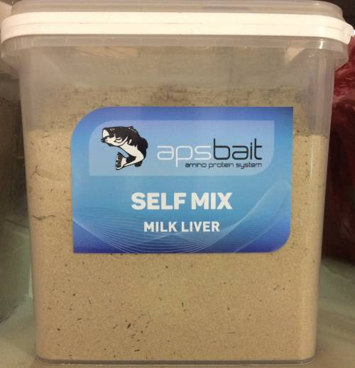 SELF MIX BOILIES MILK LIVER - LINEA APS AMINO PROTEIN SYSTEM