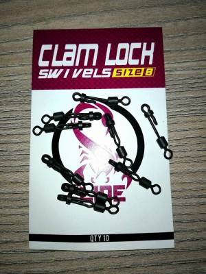 CLAM LOCK SWIVELS