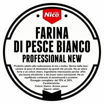 FARINA DI PESCE BIANCO PROFESSIONAL NEW