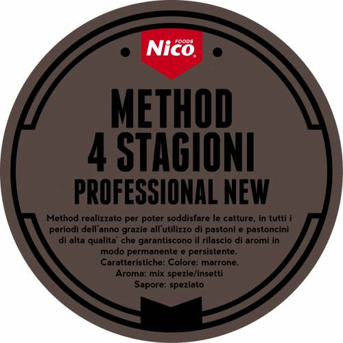 METHOD 4 STAGIONI PROFESSIONAL NEW