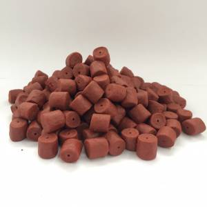RED  HALIBUT PELLET FORATO 8/14/20 MM