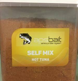 SELF MIX BOILIES HOT TUNA  - LINEA APS AMINO PROTEIN SYSTEM
