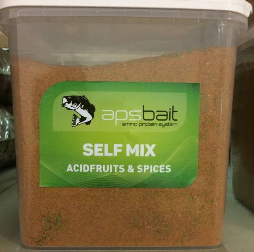 SELF MIX BOILIES ACIDFRUIT & SPICE  - LINEA APS AMINO PROTEIN SYSTEM
