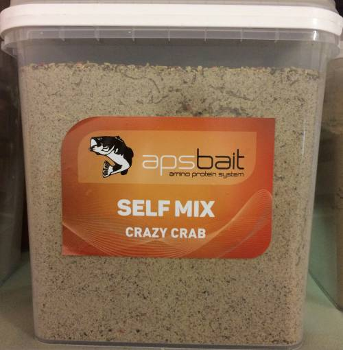 SELF MIX BOILIES CRAZY CRAB  - LINEA APS AMINO PROTEIN SYSTEM